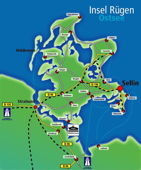 Anreise Zur Insel Wangerooge Mit Dem Auto Pkw: Residenz Waldschlösschen